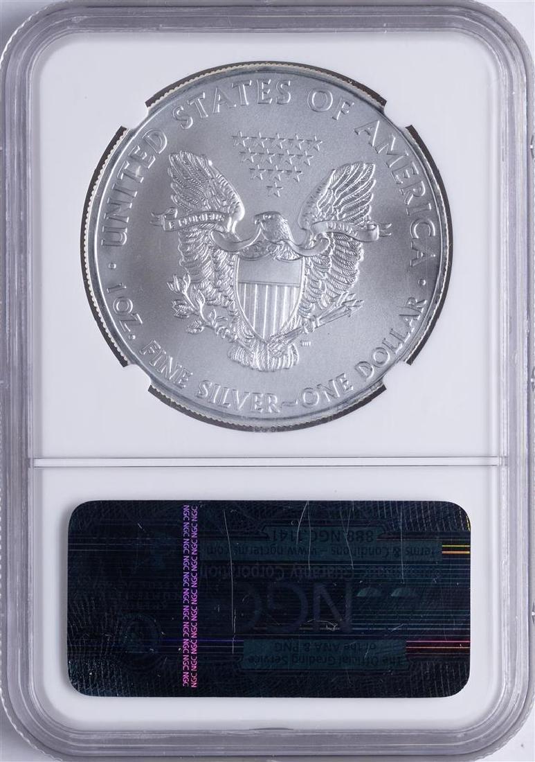 2011 (S) American Silver Eagle Struck at San Francisco - 2