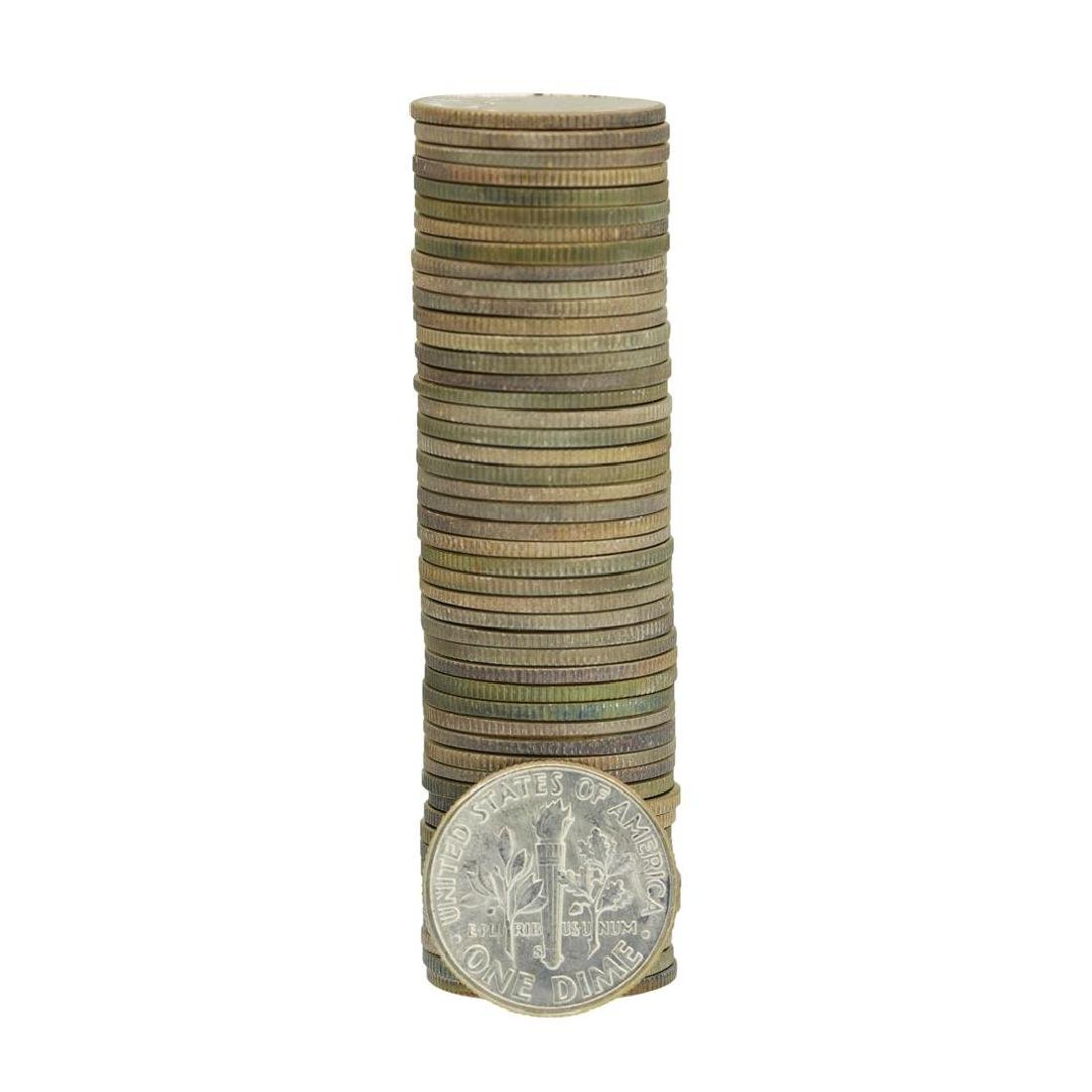 Roll of (50) 1953-S Brilliant Uncirculated Roosevelt - 2