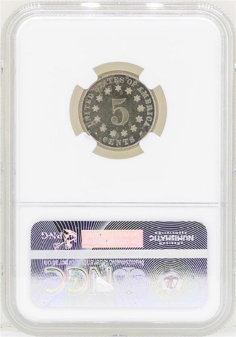 1883 Shield Nickel Proof Coin NGC PF64 - 2