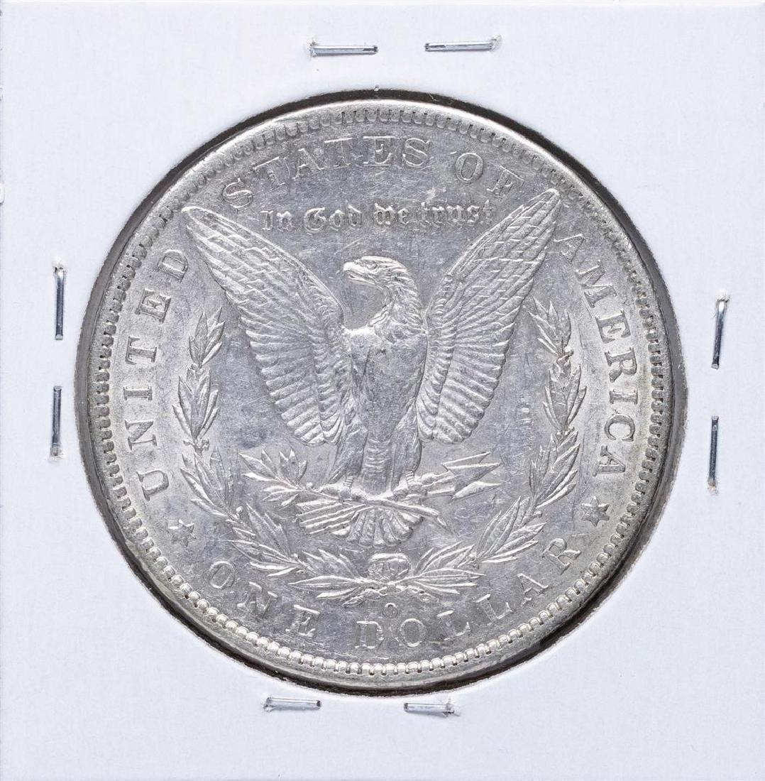 1886-O $1 Morgan Silver Dollar Coin - 2