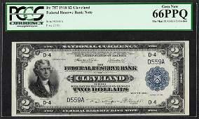1918 2 Battleship Federal Reserve Bank Note Fr757