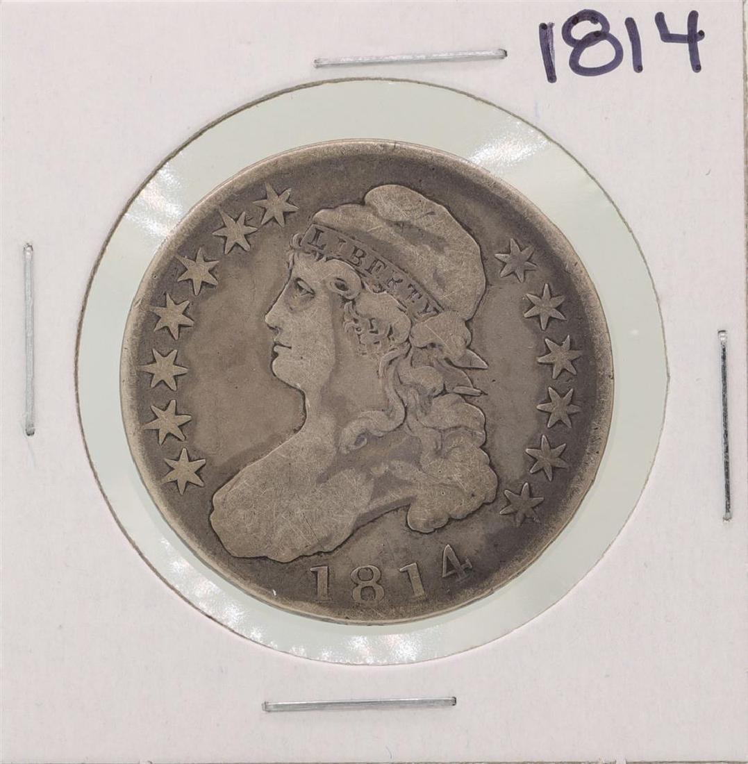 1814 Capped Bust Half Dollar Coin