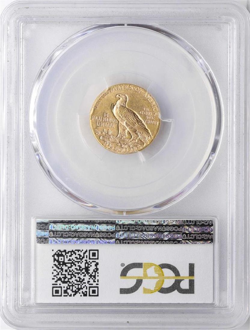 1913 $2 1/2 Indian Head Quarter Eagle Gold Coin PCGS - 2