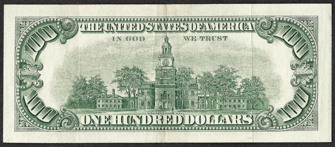 1966 $100 Legal Tender Note - 2