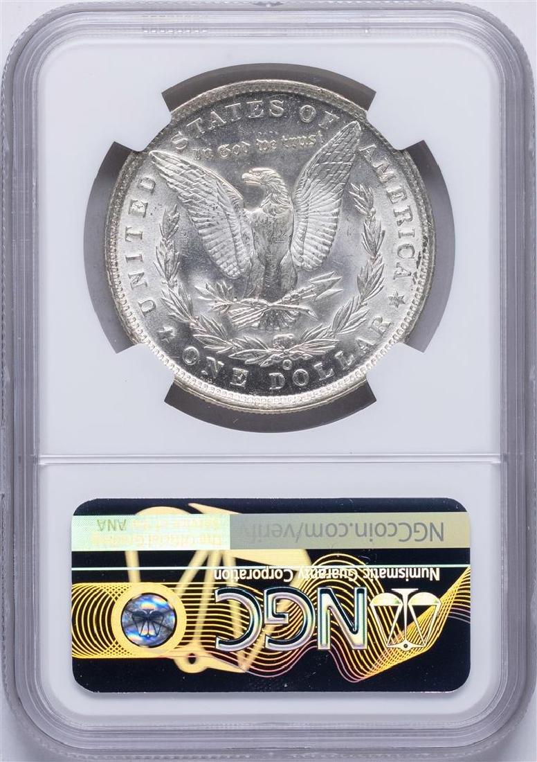 1889-O $1 Morgan Silver Dollar Coin NGC MS62 - 2