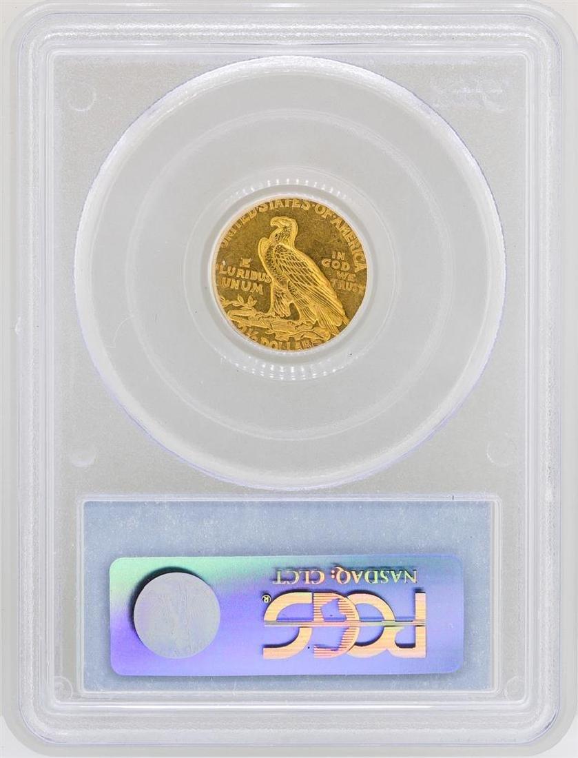 1926 $2 1/2 Indian Head Quarter Eagle Gold Coin PCGS - 2