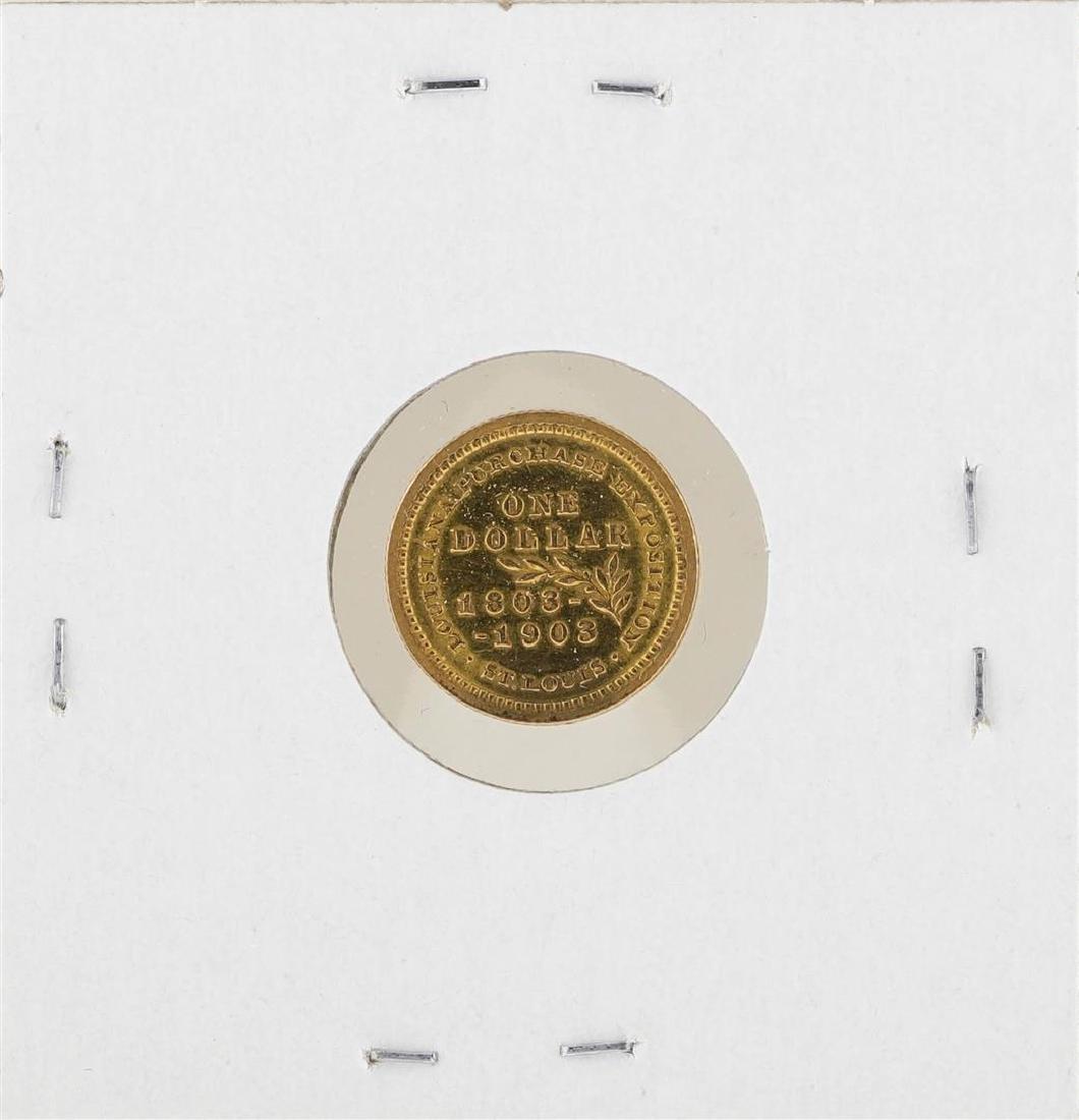 1903 $1 McKinley Gold One Dollar Coin - 2