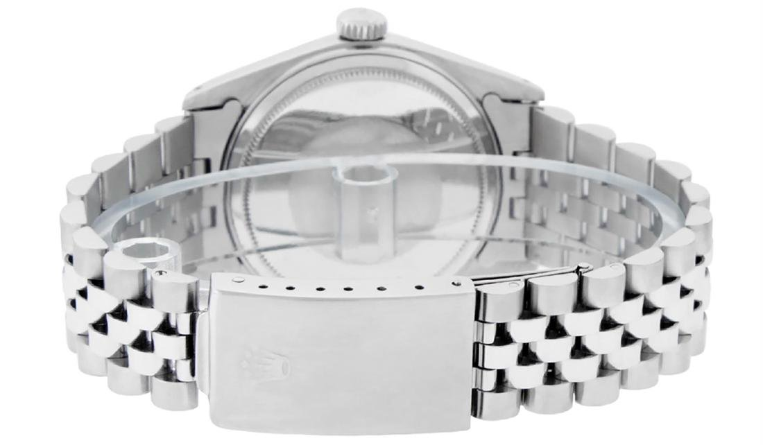 Rolex Men's Stainless Steel Mother Of Pearl Roman - 5