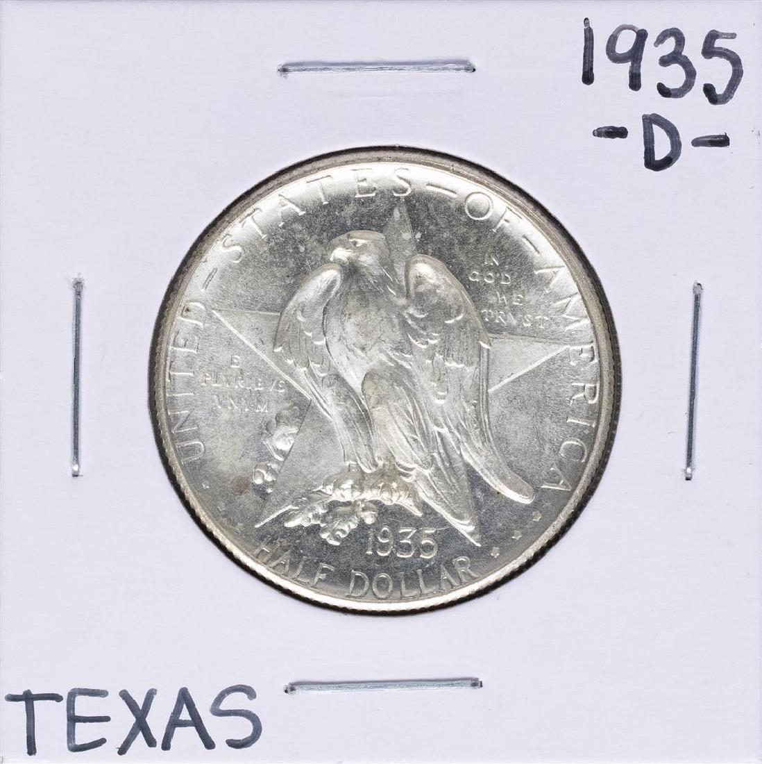 1935-D Texas Independence Centennial Commemorative Half