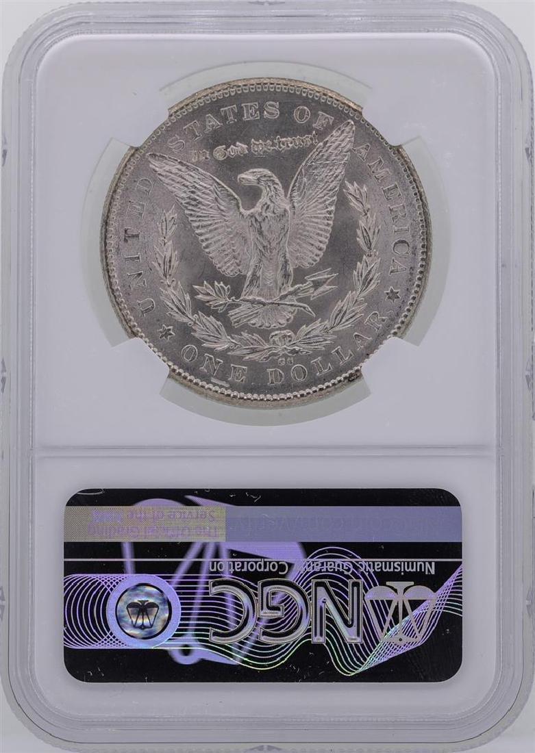 1878-CC $1 Morgan Silver Dollar Coin NGC MS61 - 2