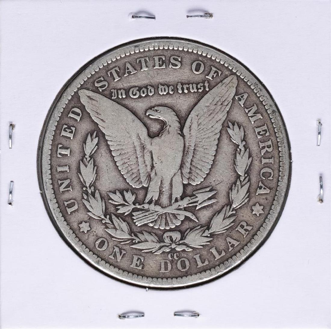 1882-CC $1 Morgan Silver Dollar Coin - 2