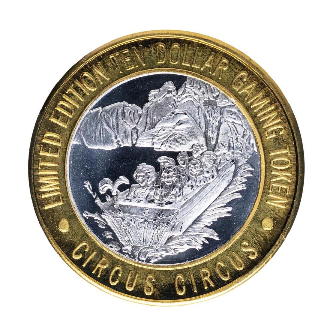 .999 Silver Circus Circus Hotel & Casino Las Vegas $10 - 2