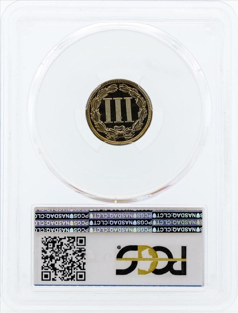 1882 Three Cent Proof Nickel PCGS PR66 - 2