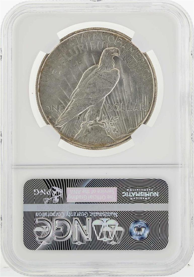 1935-S $1 Peace Silver Dollar Coin NGC MS64 - 2
