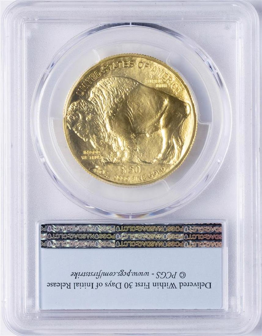 2016 $50 American Buffalo Gold Coin PCGS MS70 First - 2