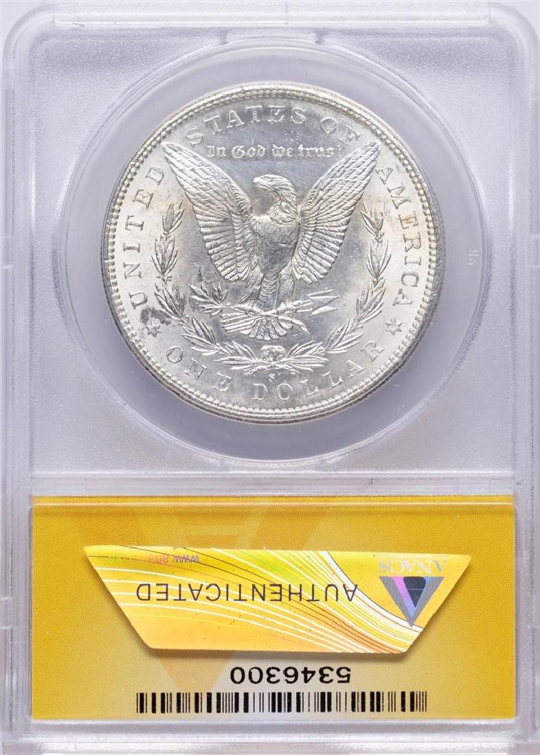 1897-S $1 Morgan Silver Dollar Coin ANACS MS61 - 2