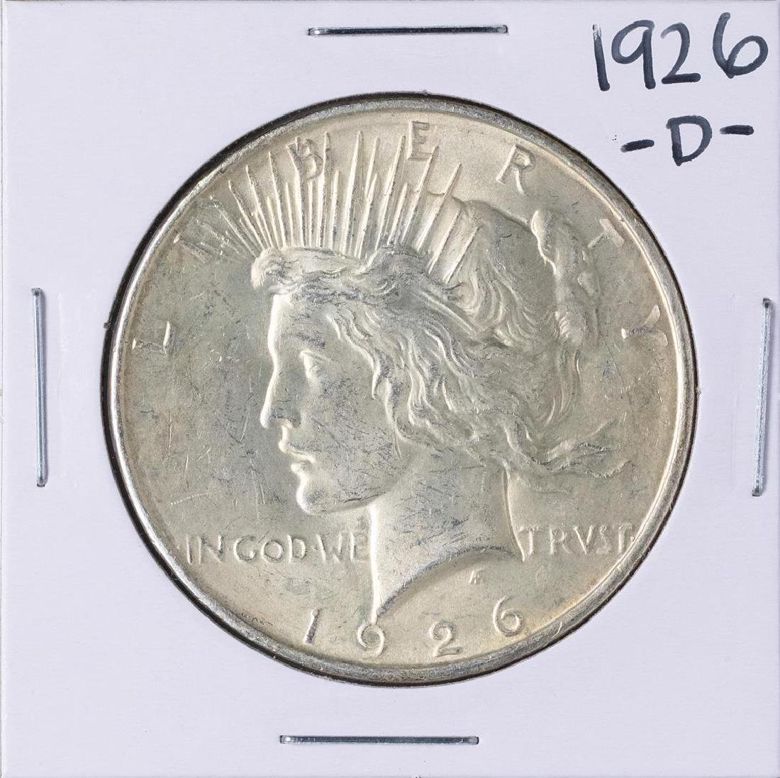 1926-D $1 Peace Silver Dollar Coin