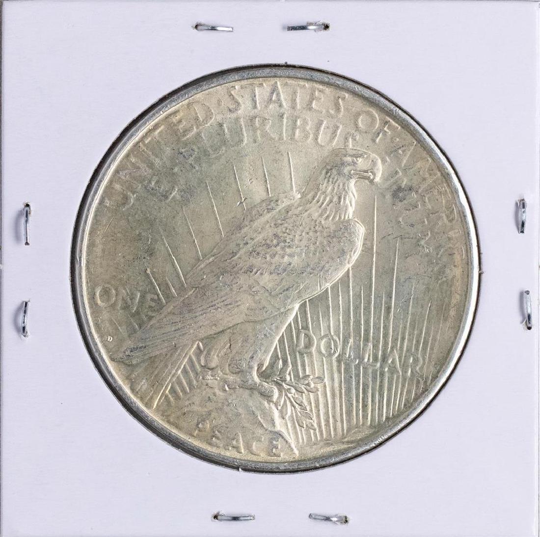 1926-D $1 Peace Silver Dollar Coin - 2