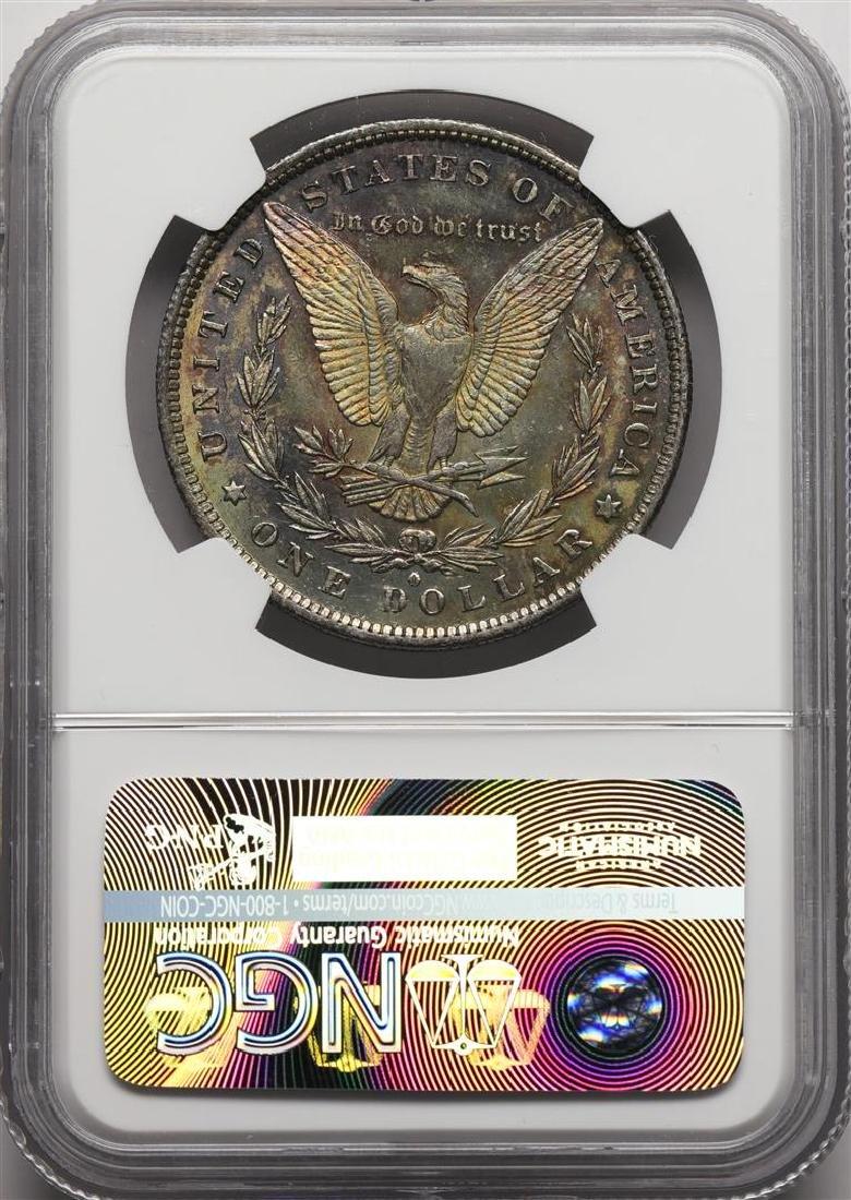 1883-O $1 Morgan Silver Dollar Coin NGC MS63 Nice - 2