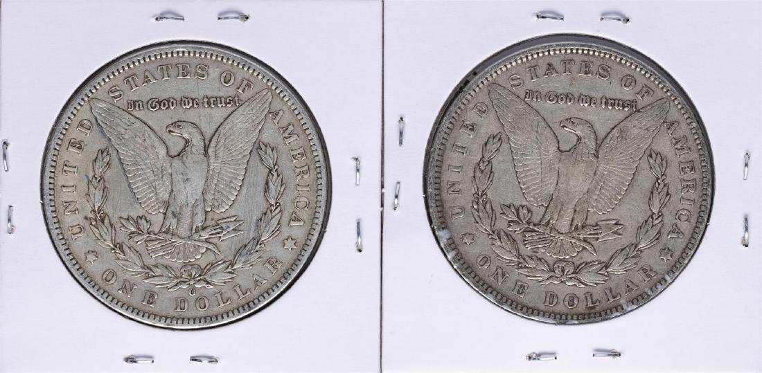Lot of 1892 & 1892-O $1 Morgan Silver Dollar Coins - 2