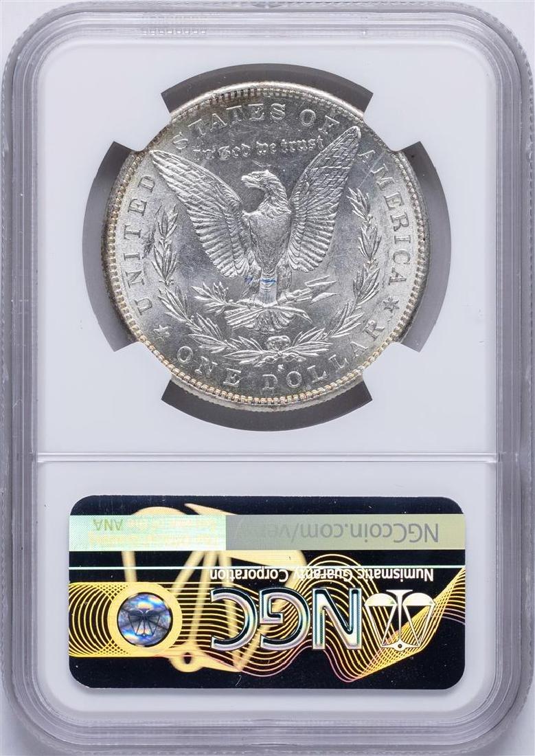 1883-S $1 Morgan Silver Dollar Coin NGC AU58 - 2