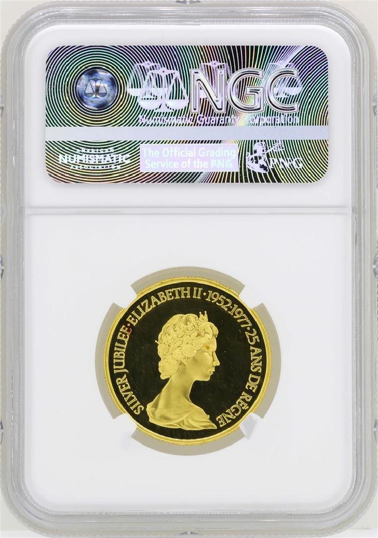 1977 Canada $100 Silver Jubilee Commemorative Gold Coin - 2