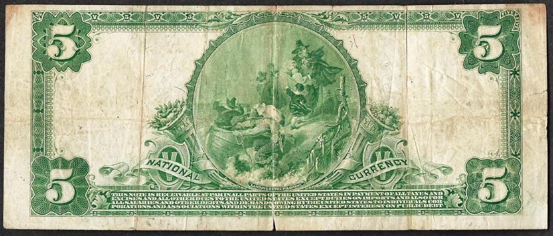 1902PB $5 First National Bank of Pittsburgh, PA CH# 252 - 2