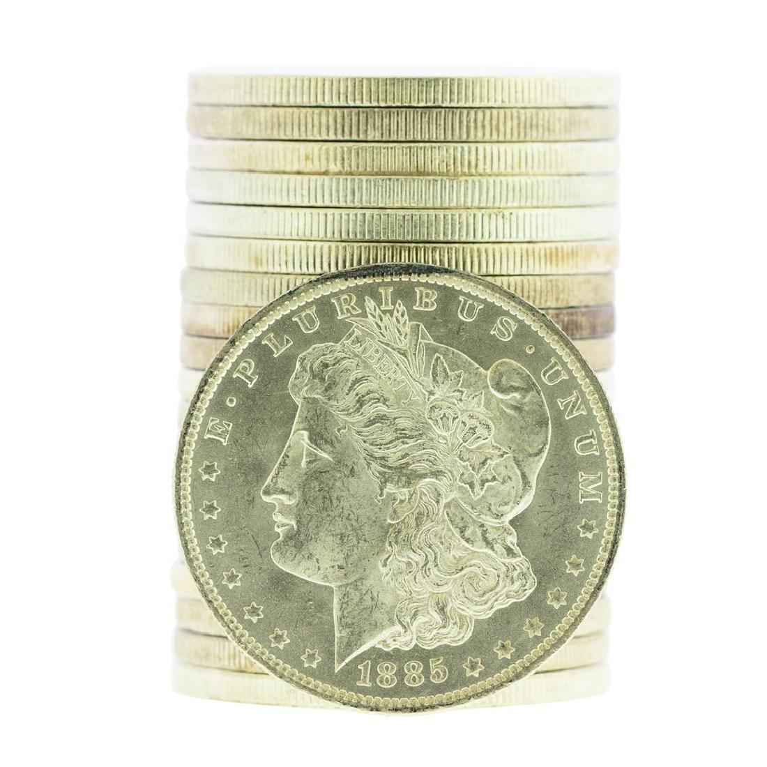Roll of (20) 1885-O $1 Brilliant Uncirculated Morgan