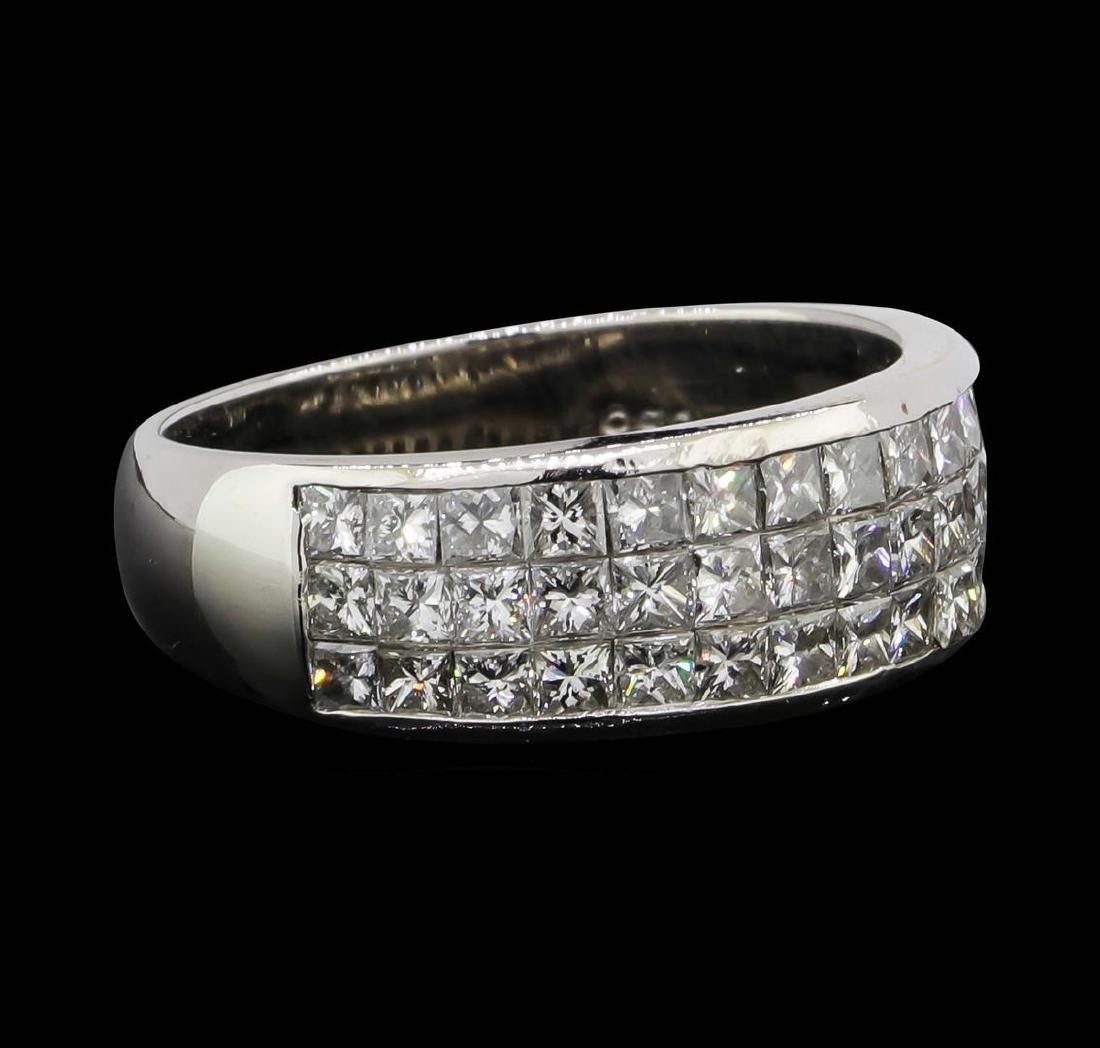 Platinum 1.00 ctw Diamond Ring - 2