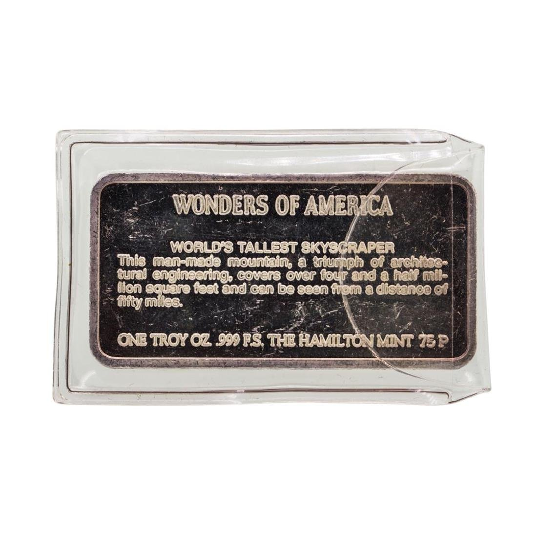 Sears Tower Wonders of America 1 oz .999 Fine Silver - 2