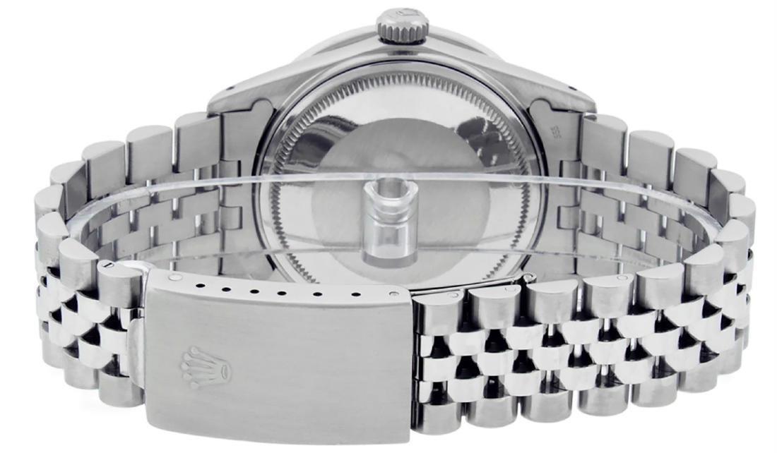 Rolex Men's Stainless Steel Blue Vignette Princess Cut - 7
