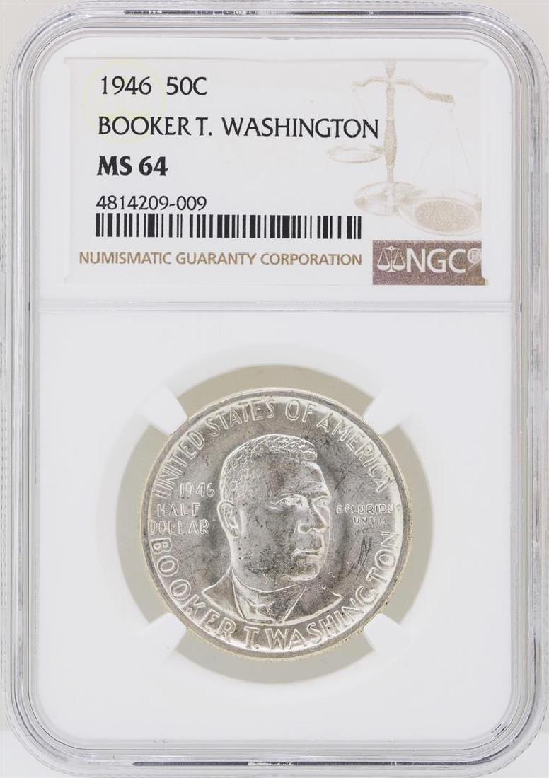 1946 Booker T. Washington Memorial Half Dollar Coin NGC