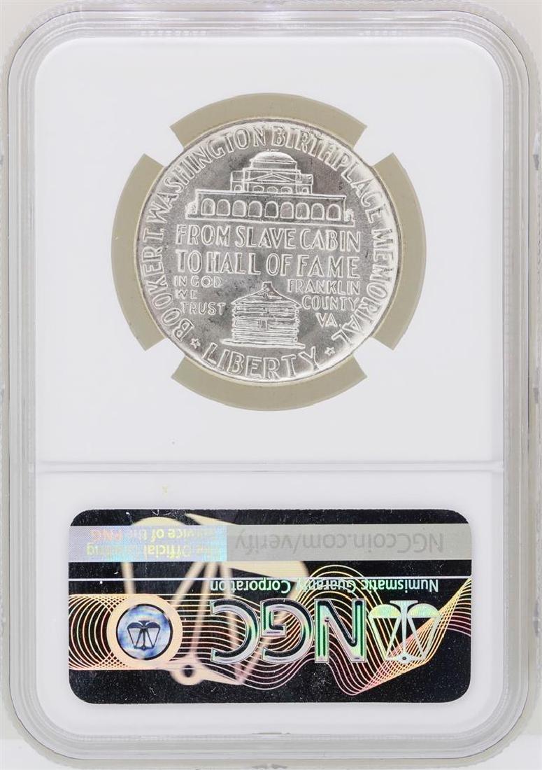 1946 Booker T. Washington Memorial Half Dollar Coin NGC - 2