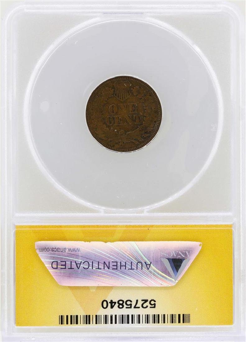 1868 Indian Head Cent Coin ANACS VF20 - 2