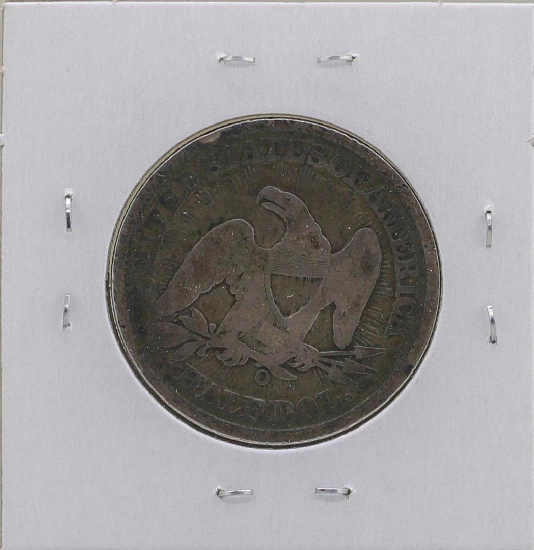1853-O Liberty Seated Half Dollar Coin - 2