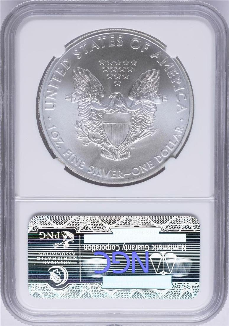 2011 $1 American Silver Eagle Coin NGC MS70 - 2