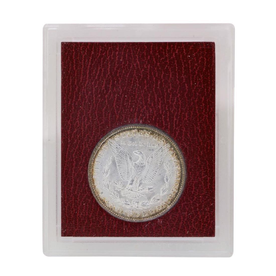 1897 $1 Morgan Silver Dollar Coin Redfield Collection - 2