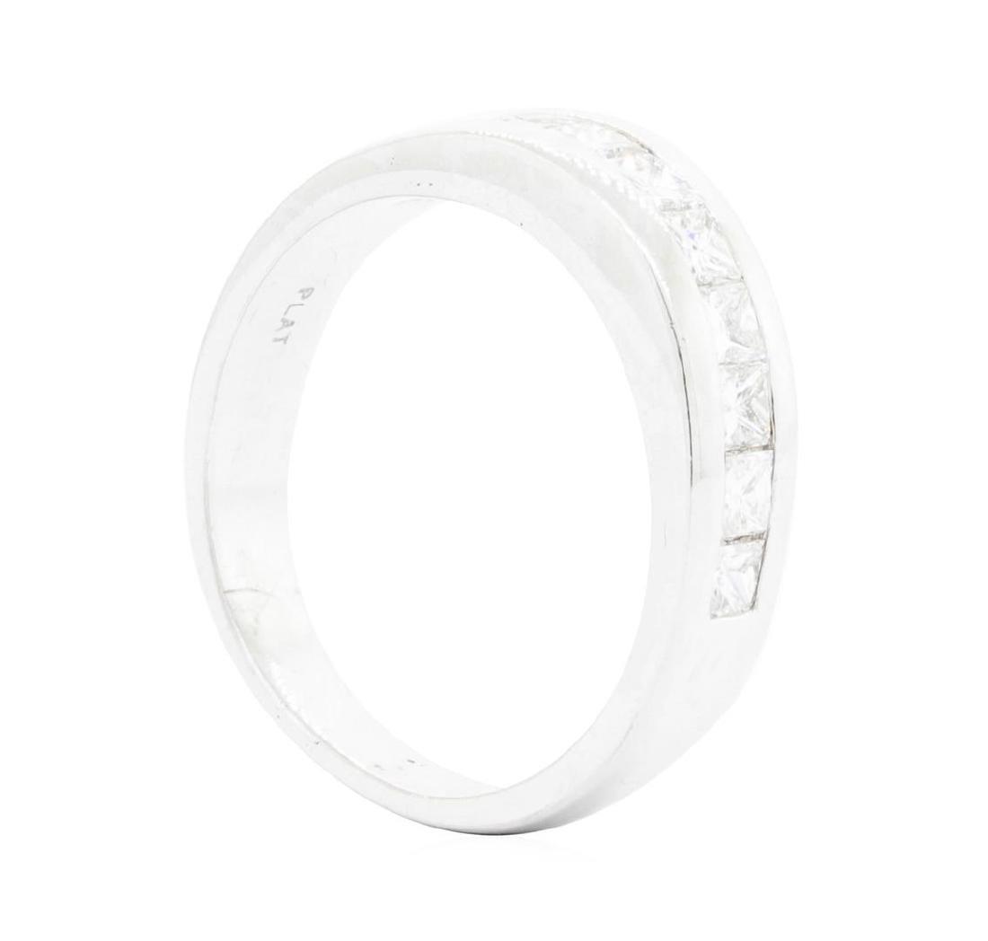 Platinum Ladies 1.25 ctw Diamond Ring - 3