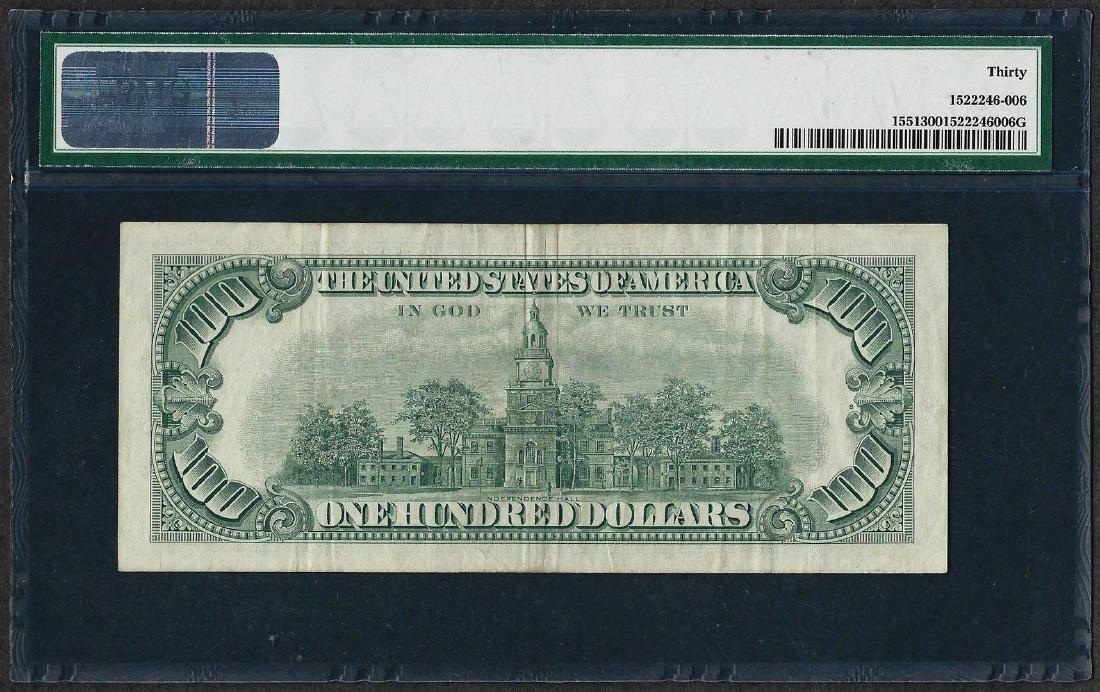 1966A $100 Legal Tender Note Fr.1551 PMG Very Fine 30 - 2
