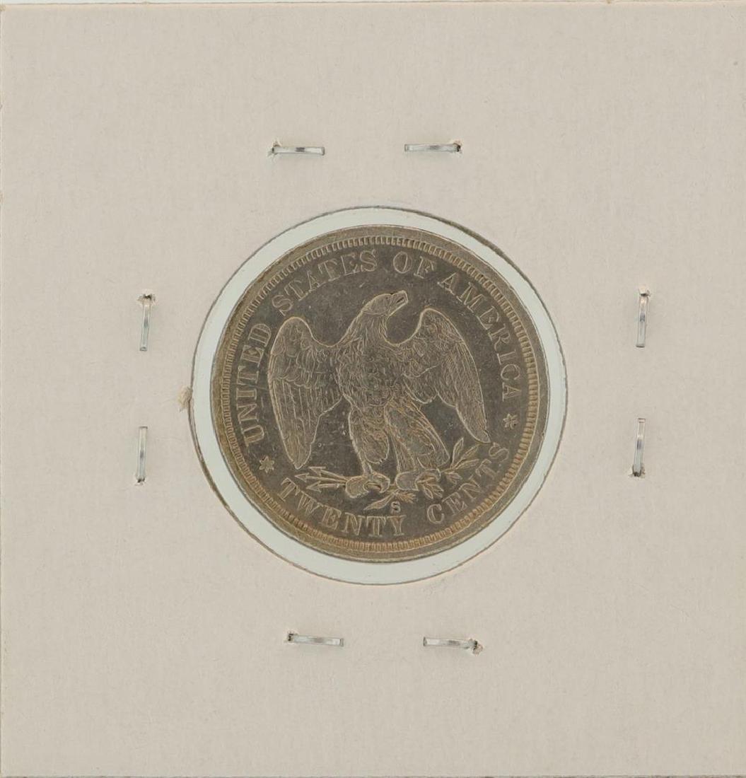1875-S Twenty Cent Piece Coin - 2