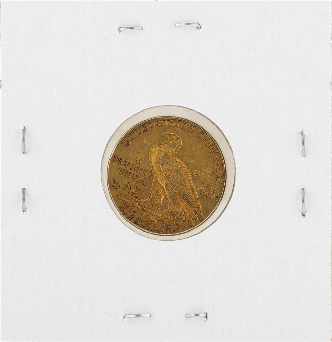 1913 $2 1/2 Indian Head Quarter Eagle Gold Coin - 2