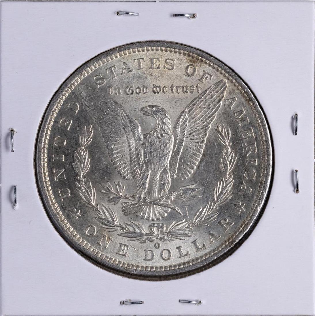 1887-O $1 Morgan Silver Dollar Coin - 2