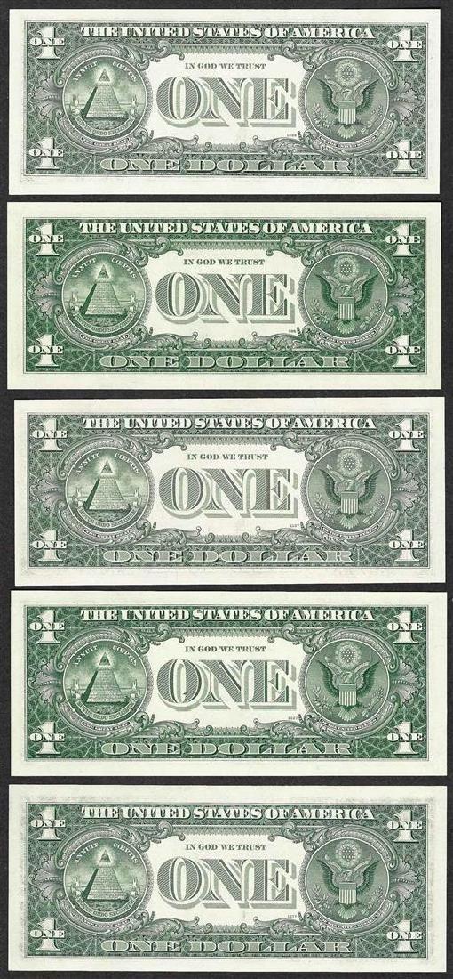 District Set of 1963B $1 Federal Reserve BARR - 2