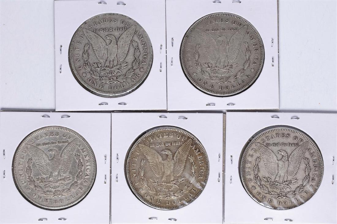 Lot of (5) 1878 Reverse of 78' $1 Morgan Silver Dollar - 2