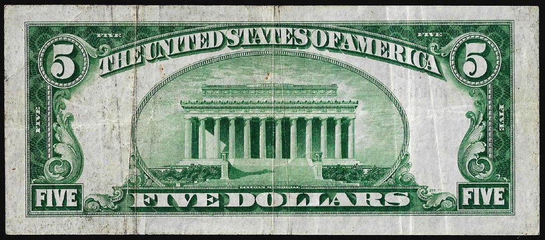 1929 $5 Wyckoff, NJ National Currency Note CH# 12272 - 2