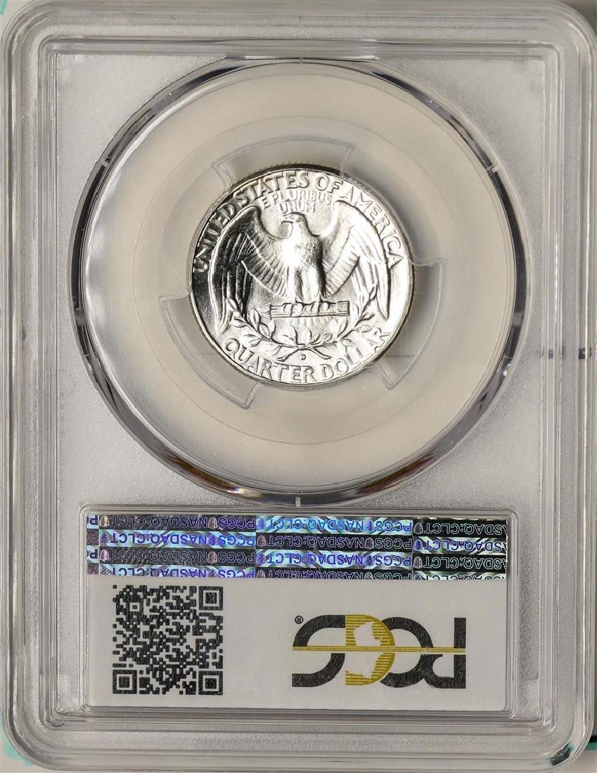 1941-D Washington Quarter Coin PCGS MS66 - 2