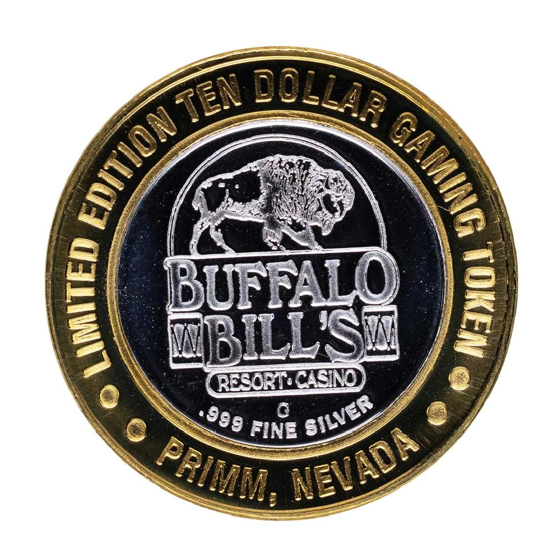 .999 Silver Buffalo Bills Resort & Casino Primm, NV $10