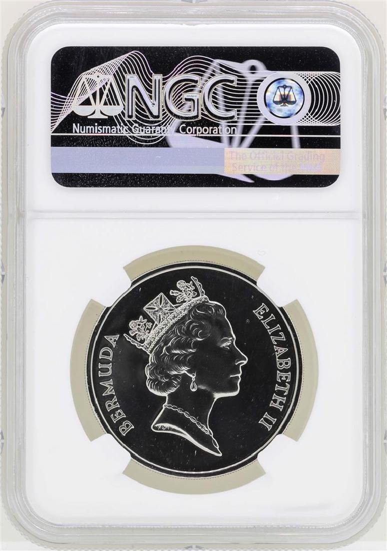1987 Bermuda $25 Palladium Sea Venture Coin NGC PF69 - 2