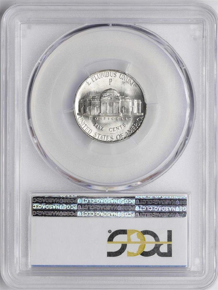 1945-P Jefferson Nickel Coin PCGS MS66 - 2