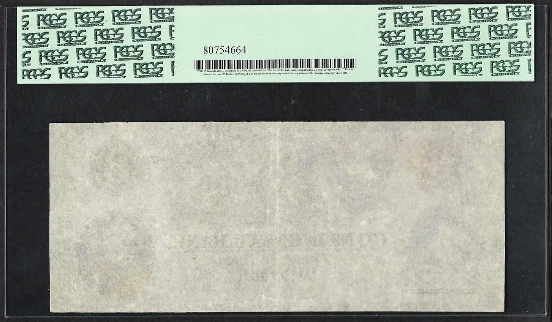 1800's $3 'Polar Bear' Continental Bank Boston Obsolete - 2